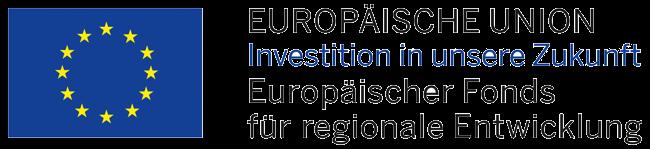 Logo Europäischer Fonds für regionale Entwicklung