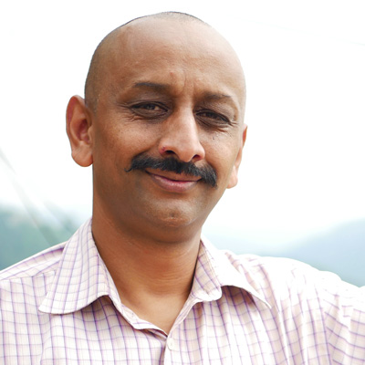 Vikram Kanwar, Founder and Director of Human Hope Foundation